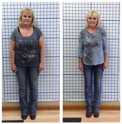 Linda lost 24 lbs in 41 days at HealthMax Weight Loss Center of Hudson