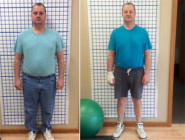 RIck lost 47 lbs at HealthMax Weight Loss Center of Hudson