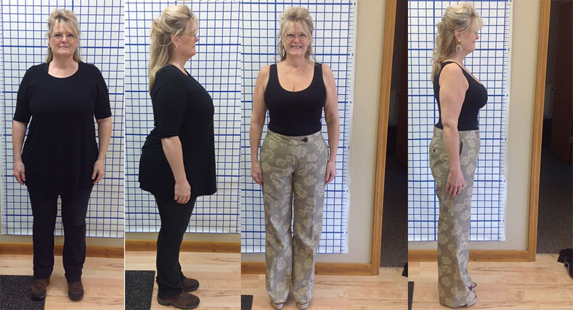 Tierney Lost 60lbs and over 40 inches at HealthMax Weight Loss Center of Hudson